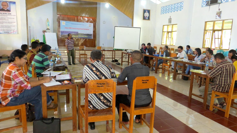 Lokalatih CMDRR Caritas Regio Nusa Tenggara