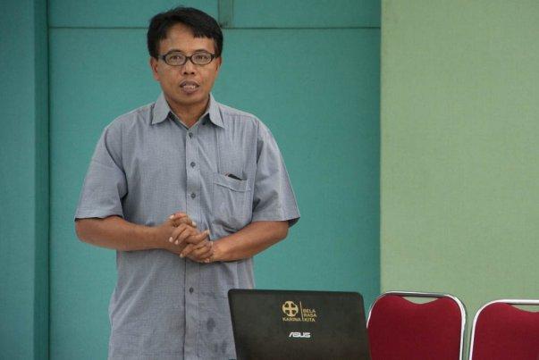 Ilustrasi: Romo Adrianus Suyadi, SJ sebagai Direktur Eksekutif Caritas Indonesia-KARINA hadir dalam kegiatan 'Leadership Training Caritas Asia' tersebut (Foto: Y. Baskoro).