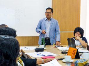 Bapak Yuda Aryanto, fasilitator Lokalatih Perpajakan.