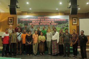 Para peserta dan narasumber Lokakarya DAS Dagesime (Foto: Jhonny Anthony)
